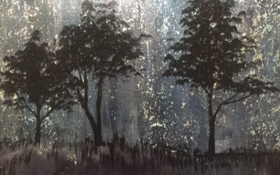 Meteor Shower: A Forest of Light
